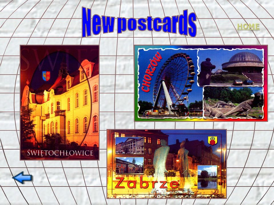 New postcards HOME