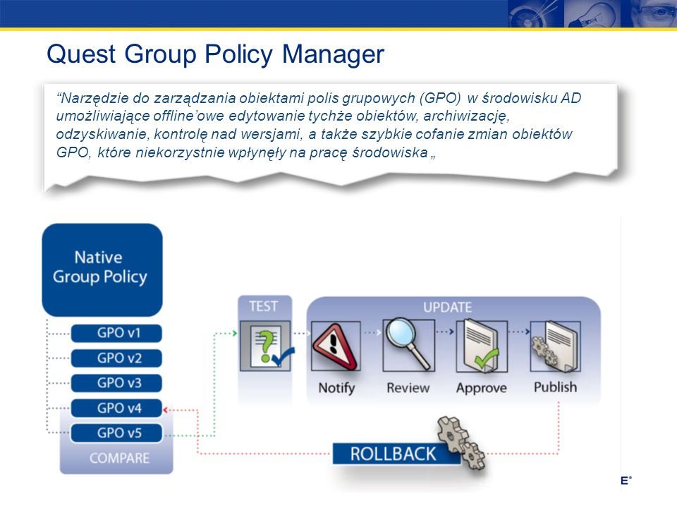 Quest Group Policy Manager