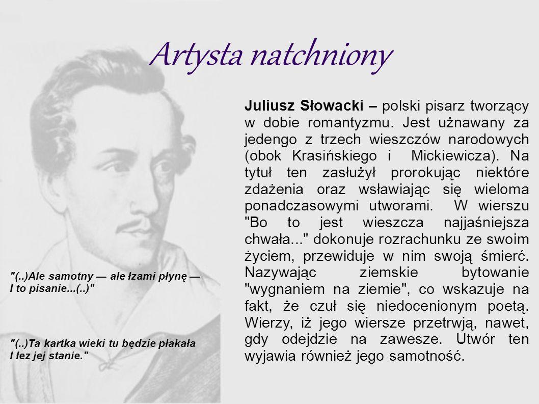 Samotność Na Obczyźnie Z życiorysu Juliusza Słowackiego Ppt Pobierz