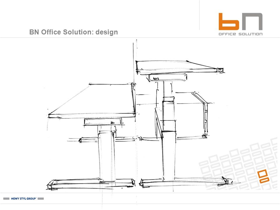 BN Office Solution: design