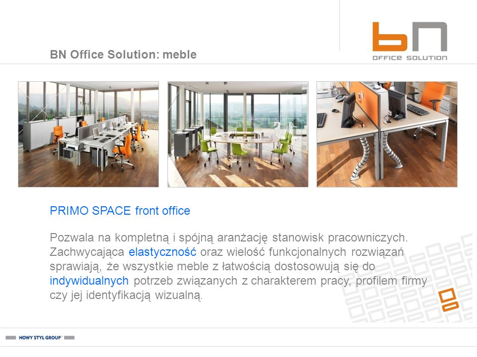 BN Office Solution: meble