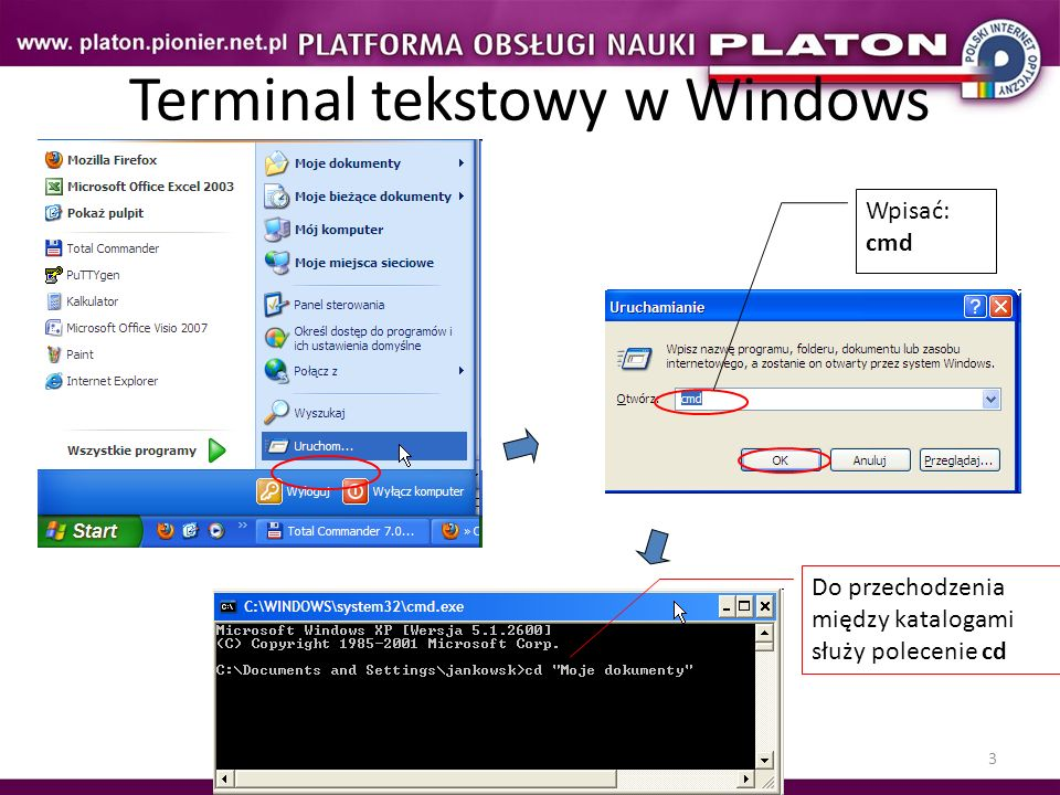 Terminal tekstowy w Windows
